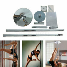 Spinning Dance Pole Static Steel Pipe Stripper Club Dancing Exercise USA