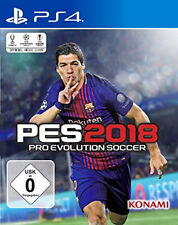 Ps4 jeu PES 2018 pro evolution soccer 18 Football version allemande NEUF