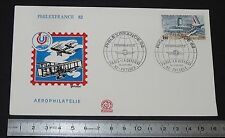 ENVELOPPE 1er JOUR PHILATELIE 1982 AVIATION PHILEXFRANCE 82 AEROPHILATELIE