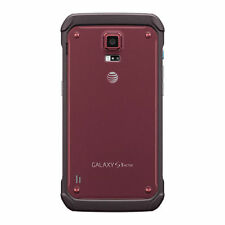 Samsung Galaxy S5 Active SM-G870A 16GB -Ruby Red (AT&T unlocked) Smartphone gsm