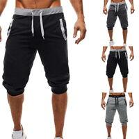 Homme Slim Fitness Sport Shorts Respirant Exercice Jogger Short Pantalon