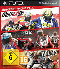 Sony PS3 Playstation 3 Spiel Motorbike Racing Pack MotoGP 13+SBK Generations+MUD