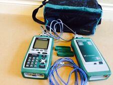Fluke Microtest Omni Scanner Omniscanner Remote Cat 5 Channel Adapters Analyzer