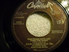John Lennon - Whatever gets you Through The Night / Beef Jerky Purple Capitol