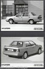 PRESS - FOTO/PHOTO/PICTURE - Hyundai Excel Set of 3 Photos