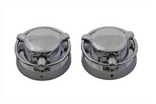 Satellite Style Gas Cap Cover Set For Harley-Davidson