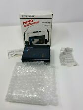 1980s Life Long Stereo Walkman Cassette Player with Box Vintage Free Shipping