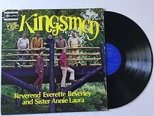 THE KINGSMEN Rev. Everette Beverley & Sister Annie Laura 1973 vinyl LP +bonus