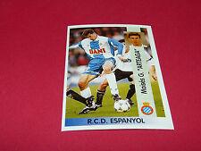 M. G. ARTEAGA RCD ESPANYOL OVIEDO PANINI LIGA 96-97 ESPANA 1996-1997 FOOTBALL