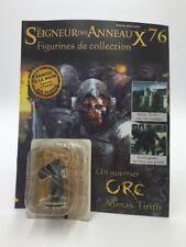 figurine plomb le seigneur des anneaux n76/180 guerrier orc fascicule eaglemoss