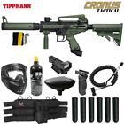 Maddog Tippmann Cronus Tactical CO2 Red Dot Paintball Gun Marker Package Olive