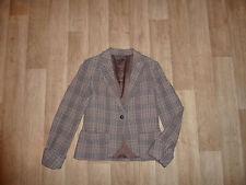 BENETTON Blazer Wollblazer Schurwolle - Mix Kariert Gr.38 (Ital.44) **w.NEU**