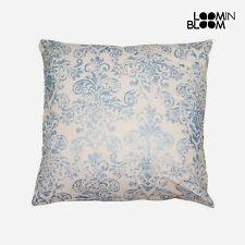 Cojines decorativos de color principal azul de 45 cm x 45 cm para el hogar