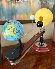 Trippensee Planetarium Orrery Complete Operational Lighted Sun Manual No Damage