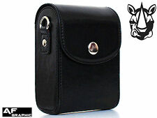 V73a Leather Case Bag for Panasonic Lumix DMC TZ80 DMC TZ81 DMC TZ100 DMC TZ110