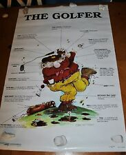 """VINTAGE 1994 GARY PATTERSON """"THE GOLFER"""" VERY RARE POSTER ONLY 1 ON EBAY"""