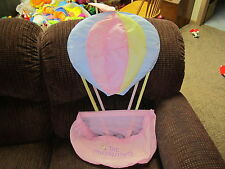 Vintage HTF Fisher Price Puffalump Doll Balloon Wall hanging Diaper Nursery hold
