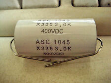 Asc / Trw X335 3uF 400V High Current Metallized Polypropylene Film Capacitor