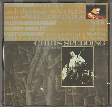 CHRIS SPEDDING Just Plug Him In! CD LIVE 14 track David van Tieghem Busta Jones