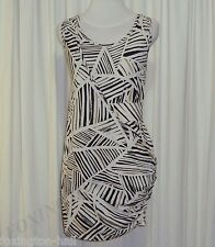 "BEAUTIFUL SASS&BIDE LAYERED SINGLET DRESS W/BELT 12 ""THE GOOD NEWS - FADE OUT"""