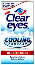 Clear Eyes Cooling Comfort Redness Relief Drops - 0.5 oz