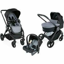 Brand new Chicco Trio best friend Travel system Stone with Car seat & Raincover