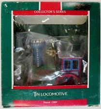 Tin Locomotive 1987 Hallmark Keepsake Ornament