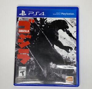 Godzilla PlayStation 4 PS4  2015 Near Mint Rare TESTED WORKING GREAT SHAPE