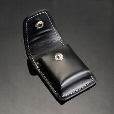 Hot Fashion Geniune PU Leather Cigarette Lighter Sheath Pouch Case Holder Black
