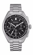 Bulova Men's Special Edition Moon Apollo 15 262Khz Frequency Watch 96B258