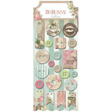 Buttons Chipboard Evening 21 Pieces - BoBunny