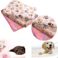 chaud confortable doux pet mat antidérapantes empreinte chat, chien de laine