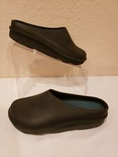 Daniel Green Black Rubber Slip On Outdoor Washable Shoes Gardening Size 7