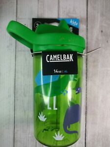 ✅ CamelBak Eddy+ 14 oz Kids Water Bottle with Tritan Renew Straw Top, Leak Proof