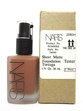 NARS SHEER MATTE FOUNDATION # DARK 4 TORTUGA 1.0 Oz / 30 ml NEW ITEM UNBOXED !!!