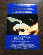 * ISABELLA ROSSELLINI * signed autographed 12x18 poster * BLUE VELVET * 1