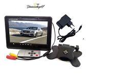 """MONITOR LCD 7"""" POLLICI TFT TV AUTO CAMPER POGGIATESTA A COLORI BASE STAND APS*"""