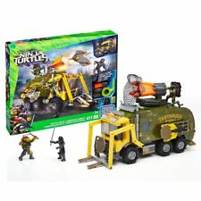 Teenage Mutant Ninja Turtles Mega Bloks Bataille Camion & Figurines TMNT Officel