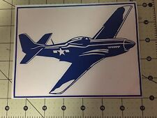 rc stickers- P-51 Side View