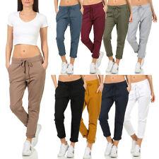 Damen Jogginghose Hose Sport Fitness Sporthose Freizeithose Yoga Freizeit Gym