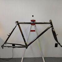 1980s Schwinn Sierra mountain bike frame and fork Black Chrome 50cm ST 60cm TT