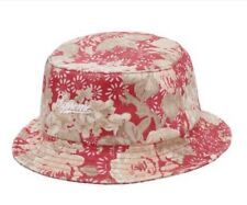 Supreme ZIP TWILL CRUSHER HAT CAP BUCKET - FLORAL - SS18 - S/M - AUTHENTIC - NEW