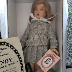 Effanbee Cindy Modern Cinderella  Dewees Cochran Doll Classics 1997, MIB
