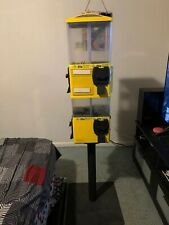 Vending Machine Bulk Candy Gumballs Toys 8 & 4 Head U Turn Terminator (Used)