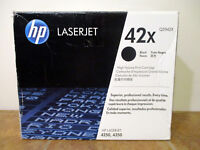 NEW HP 42X Q5942X OEM Genuine Black Laserjet Toner Print Cartridge BAG SEALED