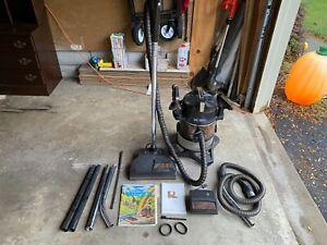 RAINBOW SE D4C Canister Vacuum W/ Power Nozzle Floor Hoses Attachments Excellent