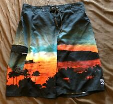 Ocean Current Mens Swimming Board Shorts  Swim Trunks Size XL