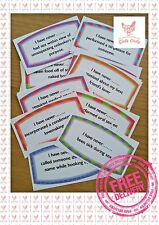 HEN NIGHT DO Never Have I Ever I Have Never Hen Party Games Rude Funny Pink Stag