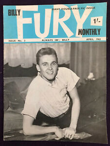 BILLY FURY MONTHLY magazine No.2 April 1963