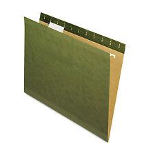 Pendaflex X-Ray Hanging File Folders 1/5 Tab Letter Standard Green 25/Box 415215